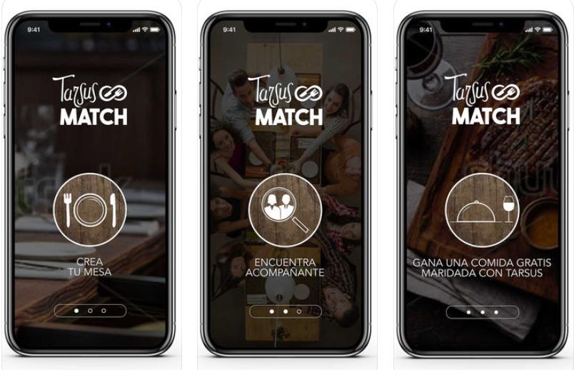 Tarsus Match, la app que te ayuda a encontrar gente para no comer solo