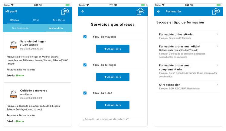 Yocuido, la app que te ayuda a encontrar personal doméstico y cuidadores