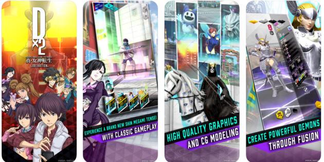 Shin Megami Tensei Liberation Dx2 ya te permite invocar demonios en iOS y Android