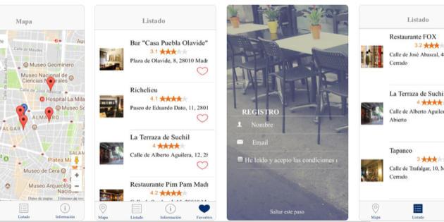 Busca tu terraza, la app que te ayuda a encontrar terracitas este verano