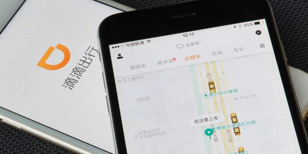 Booking invierte 500 millones de dólares en la app de taxis china Didi