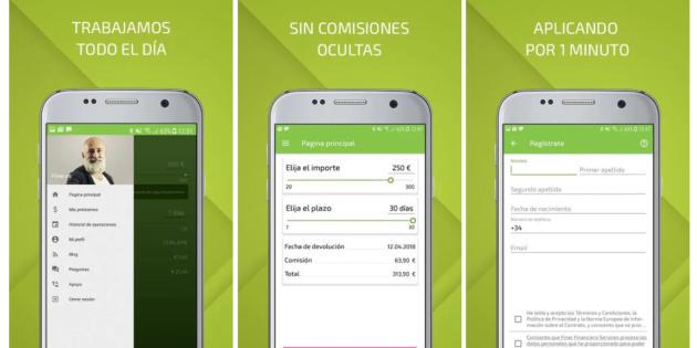 La plataforma de microcréditos Finer.es lanza su app para Android