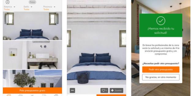 Habitissimo, una app para empezar la reforma de tu casa