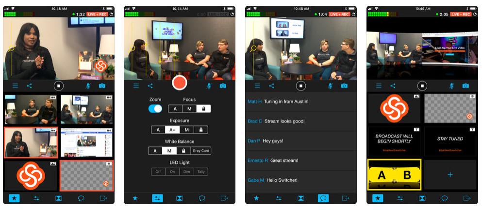 Switcher Studio, la app para hacer grabaciones y emisiones multicámara con tus iPhones o iPads