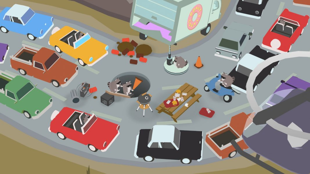 Donut County, el juego en el que un agujero se traga todo tu pueblo