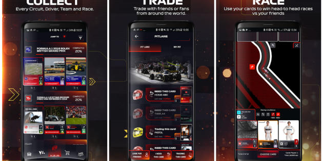 F1 Trading Card Game, ya disponible para Android