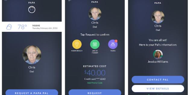 Papa, la app que permite 'alquilar' nietos por horas