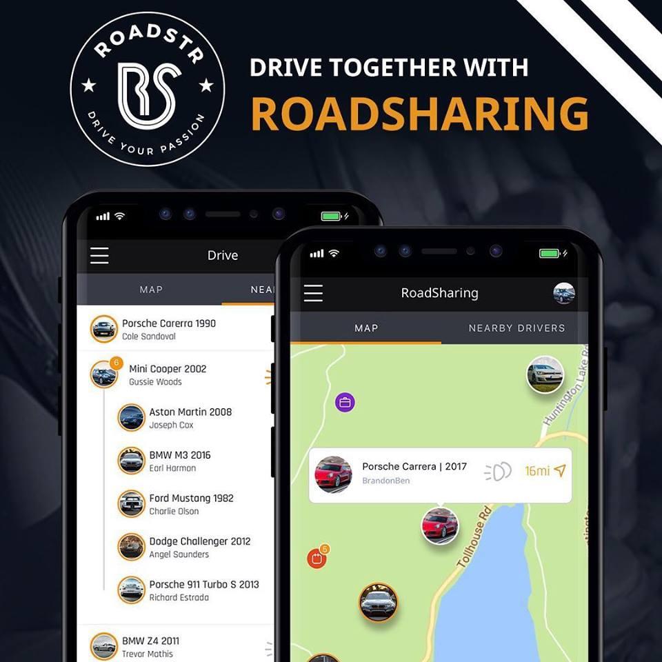 Roadstr, la red social para los amantes de los coches