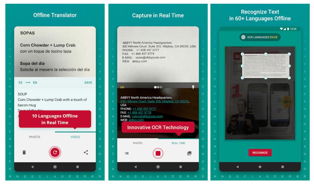 TextGrabber ya traduce idiomas en tiempo real