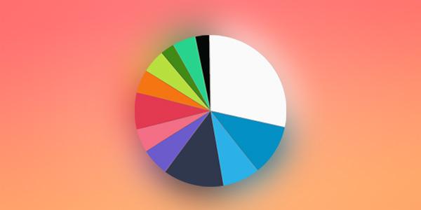 Los colores que las apps más populares de iOS usan en sus iconos
