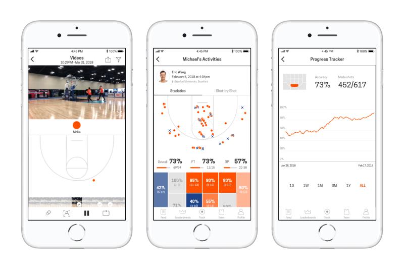 Homecourt, la nueva app de iOS que analiza tus tiros de baloncesto