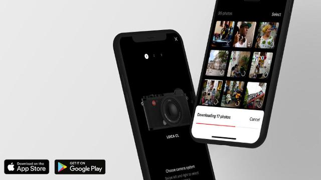 Leica lanza una app para controlar sus cámaras de manera remota