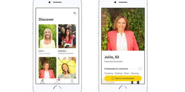 Crean Lumen, la primera app de citas para mayores de cincuenta