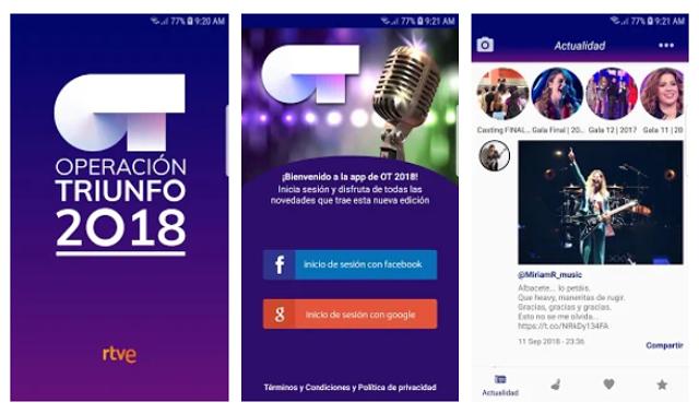 La app de OT 2018 obliga a los usuarios a dar su información personal para fines comerciales