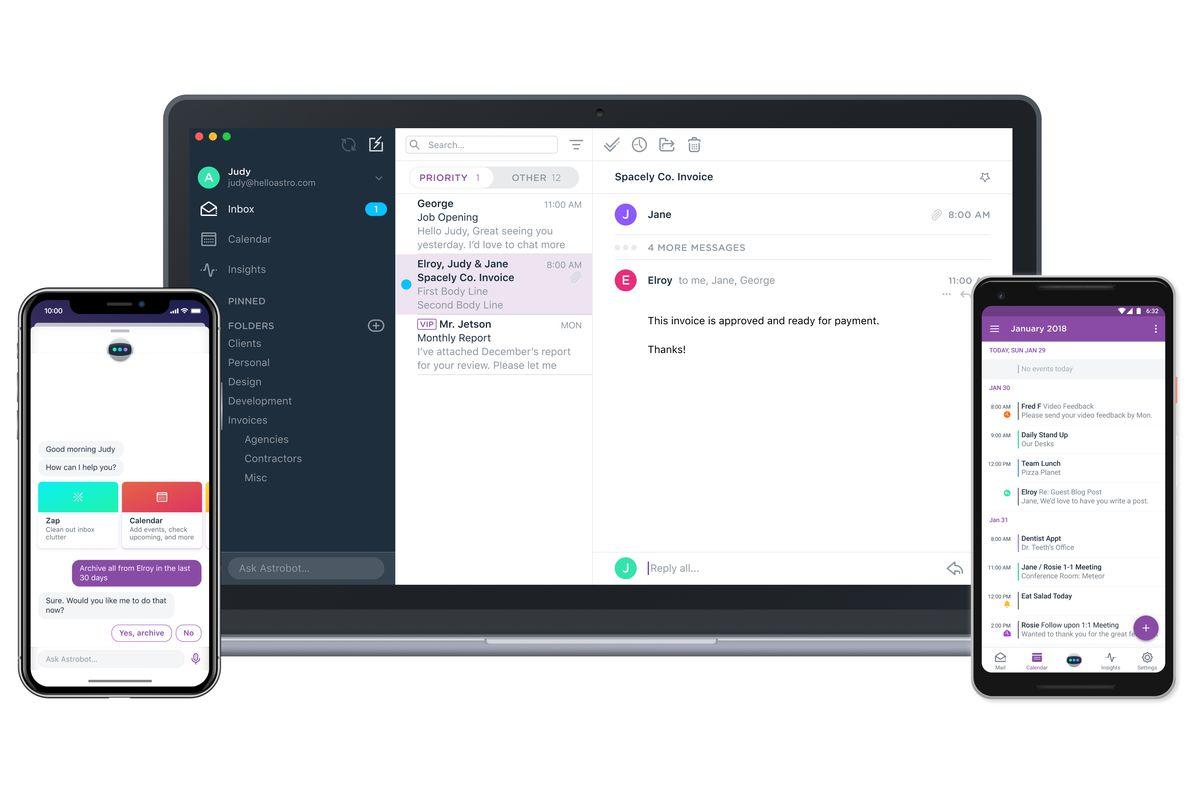 Slack se hace con la app de correo Astro y la cierra