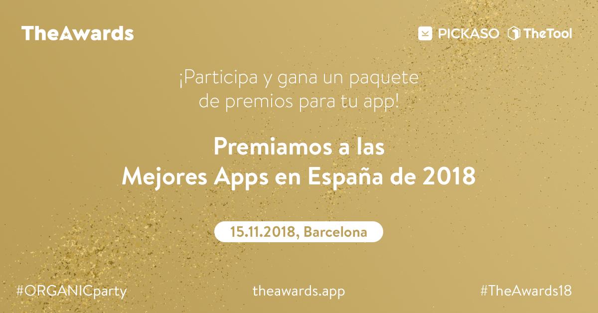 PickASO y TheTool buscan las mejores apps españolas en The Awards