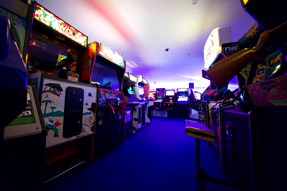 Arcade Club, el mayor templo de Europa para los retro gamers y gamers en general