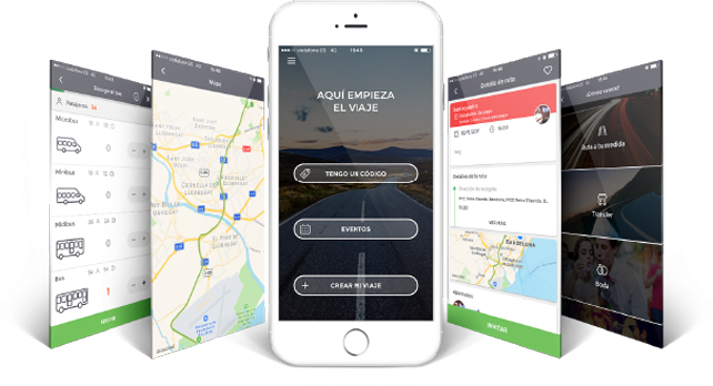 BusUp, la app que permite compartir trayectos en autobús