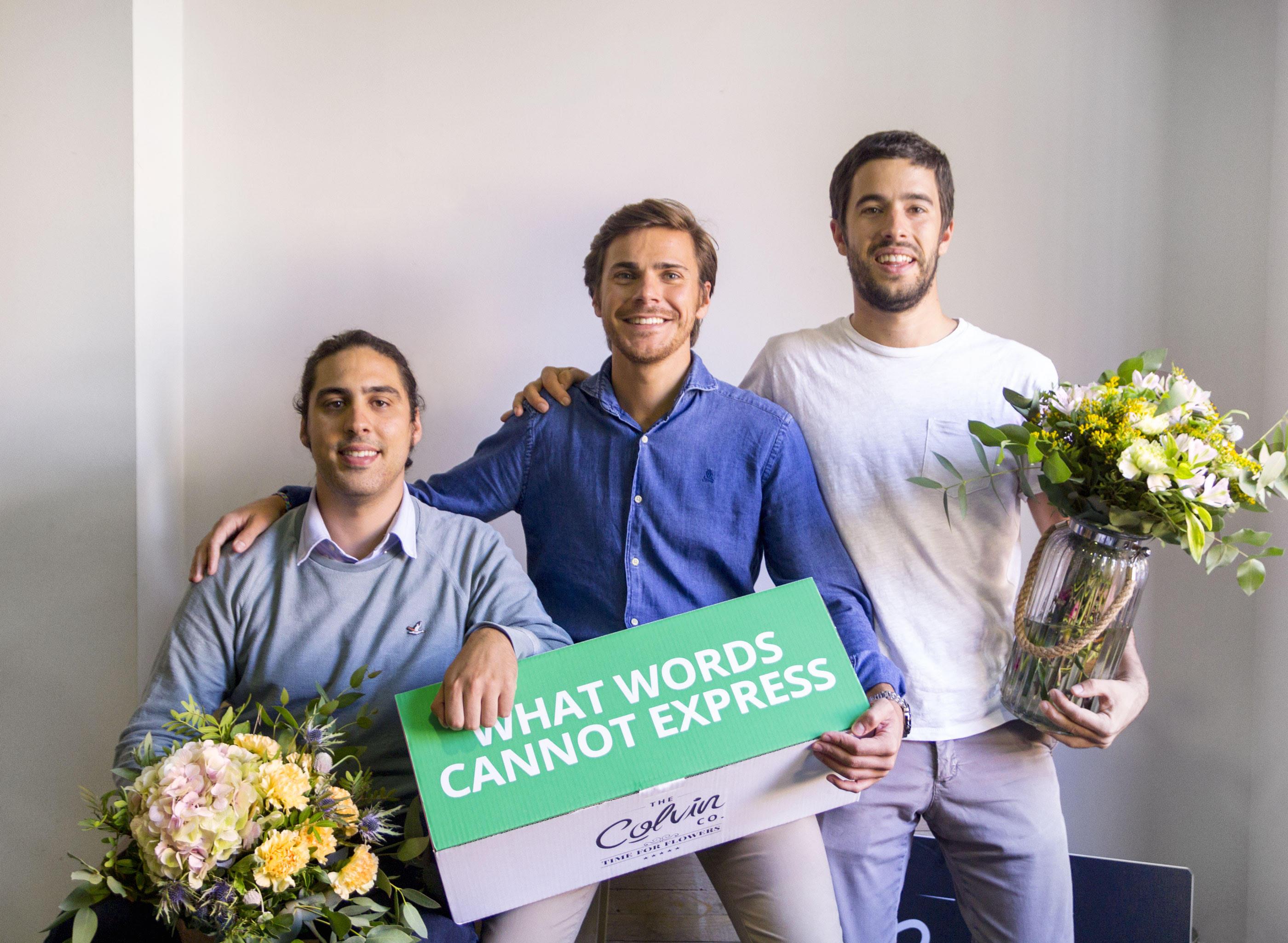 """Colvin: """"Os sorprendería la cantidad de gente que se suscribe para autorregalarse flores"""""""