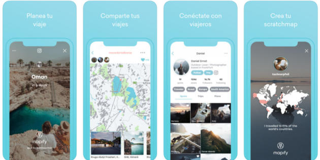 Haz las maletas y pon a prueba Mapify, la red social de experiencia de viajes
