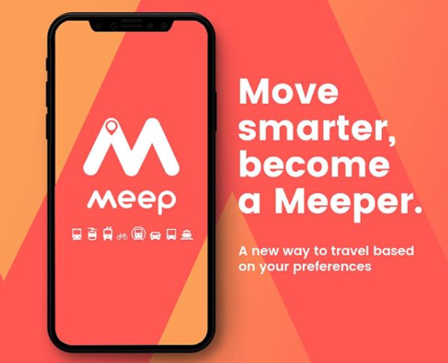 """Meep: """"En ciudades como Madrid existe un problema por lo desconectados que están todos los transportes"""""""