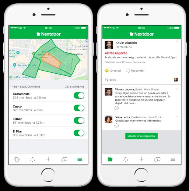 """Nextdoor: """"Los españoles dan mucha importancia a sus barrios y a sus relaciones con los vecinos"""""""