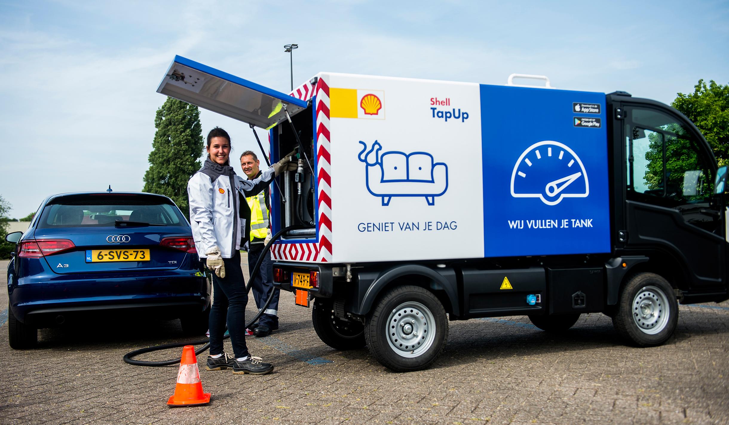 Shell TapUp, la app para que te lleven gasolina y te llenen el depósito en cualquier parte