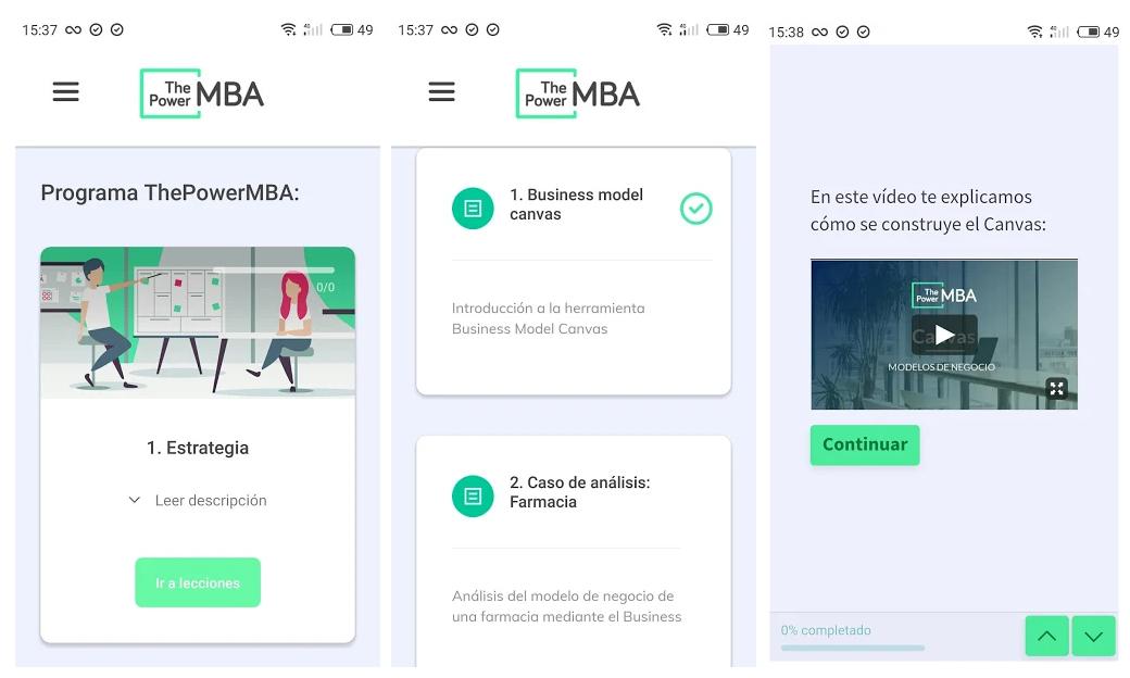 ThePowerMBA ya se puede cursar en formato app
