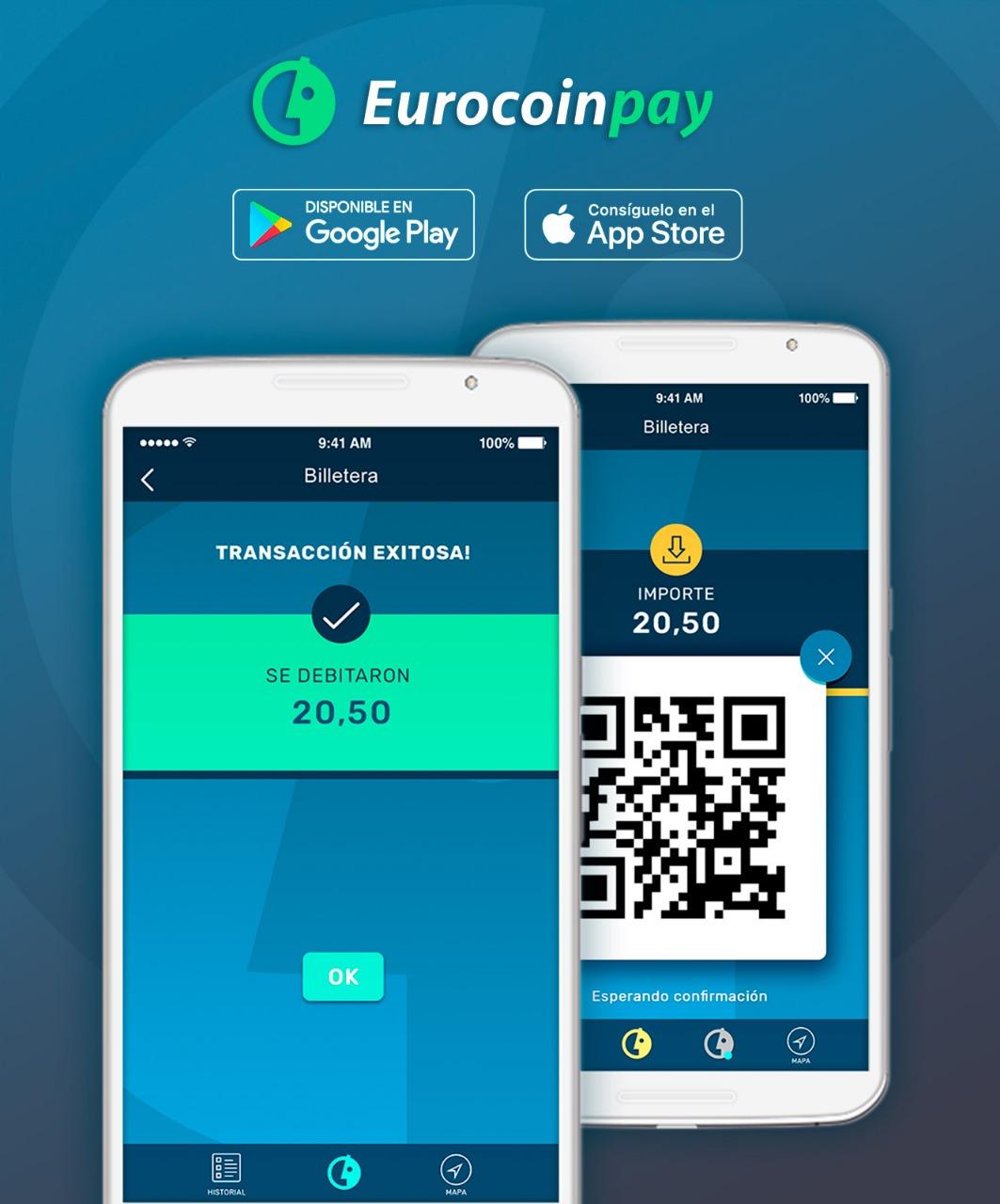 Eurocoinpay lanza su aplicación móvil para iOS y Android