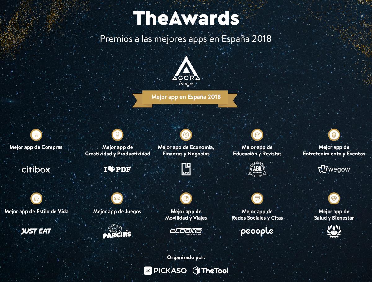 Agora Images, escogida como la mejor app española en TheAwards 2018
