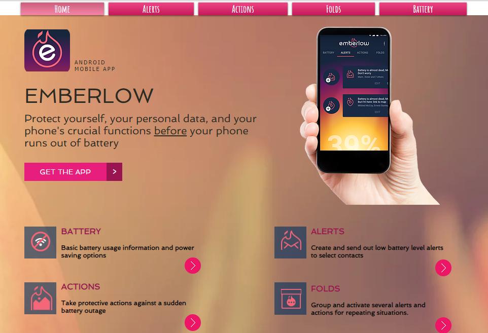 Emberlow, la app que se anticipa a la muerte de tu batería