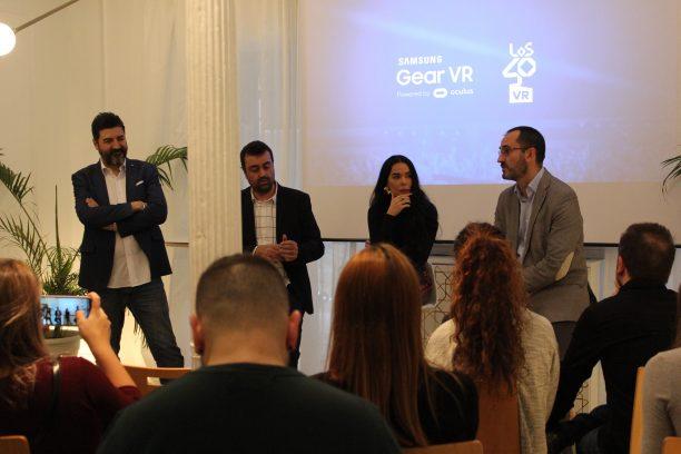 Los40 lanza una app de realidad virtual en colaboración con Samsung