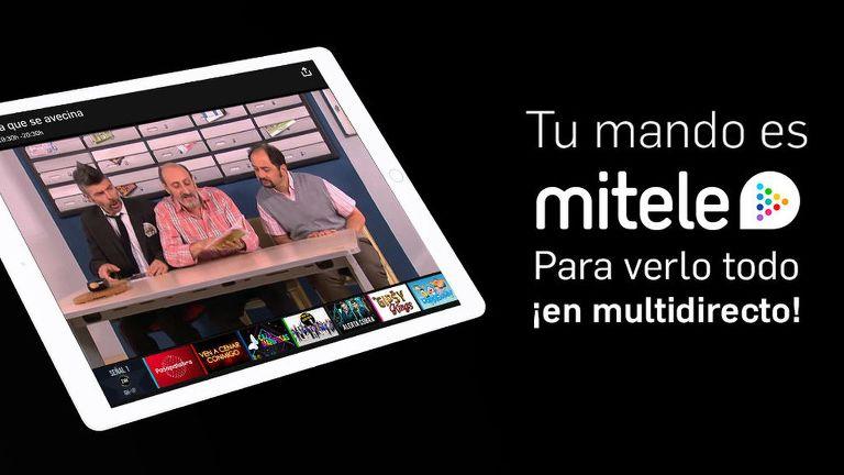 La app de Mediaset se dota de player multidirecto y te permite usar tu móvil de mando a distancia