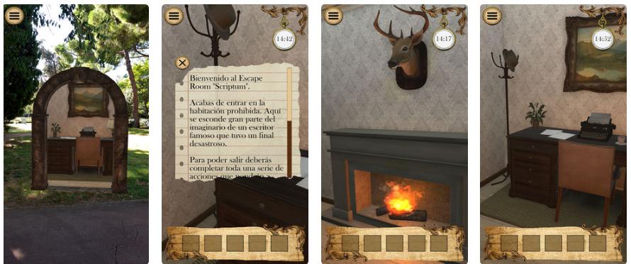 Scriptum, un Escape Room en tu smartphone gracias a la realidad aumentada