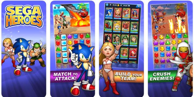 Sega Heroes, el homenaje al legado de Sega, ya disponible en iOS y Android