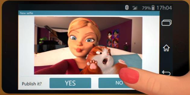 Selfie Cat, el corto que muestra lo difícil que es hacerte selfies con tu mascota