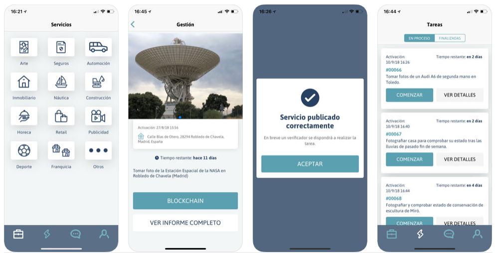 Visualeo, la app de blockchain para comprobar el estado de un producto o propiedad a distancia