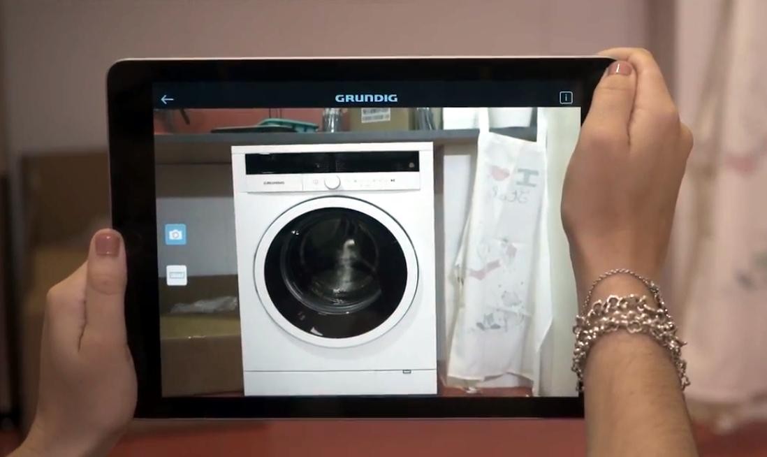 Grunding lanza una app con realidad aumentada: Así quedan sus electrodomésticos en tu casa