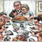 8 viñetas que muestran cómo los smartphones y las apps han cambiado las Navidades