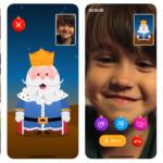 Una app permite a tus hijos mantener videollamadas con los Reyes Magos