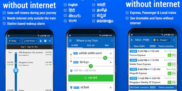 Google se hace con la app india Where Is My Train