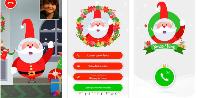 Xmas Time, la app que permite a tus hijos mantener videollamadas con Papá Noel