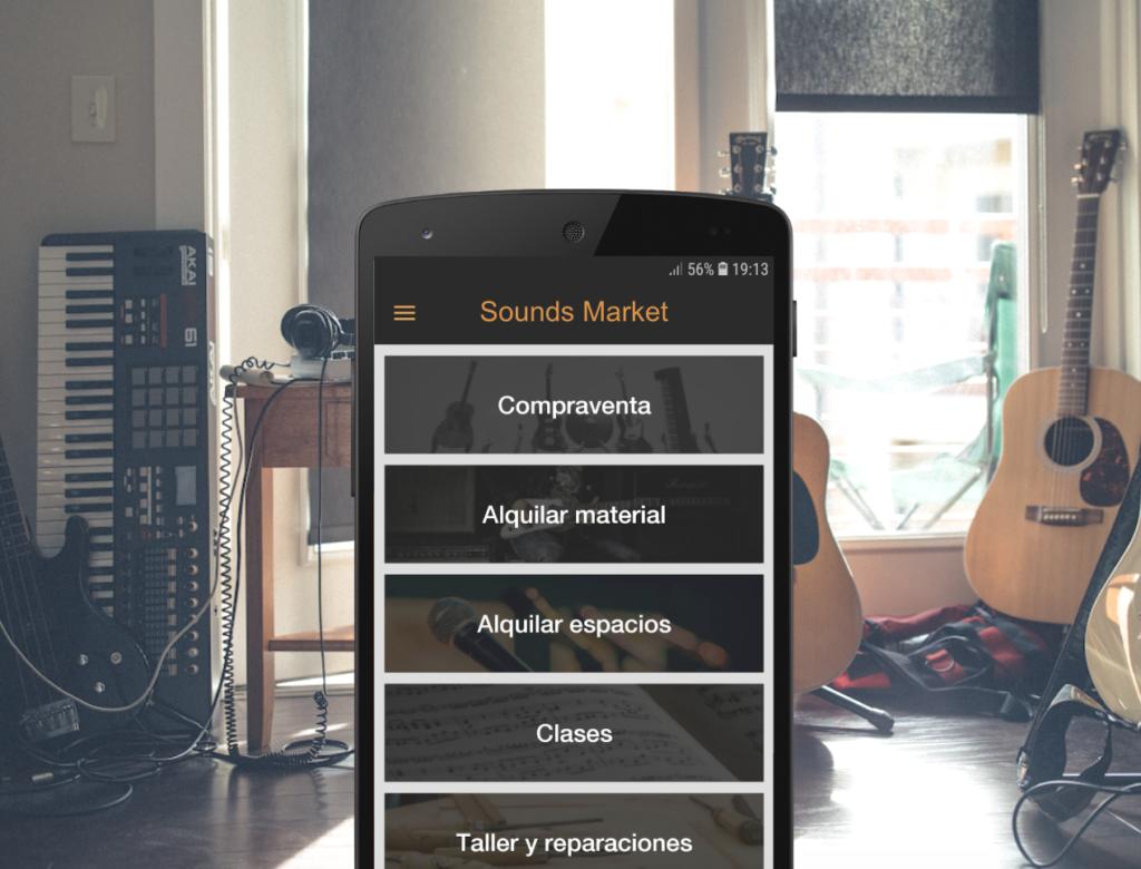 """Sounds Market: """"Queremos que todos los músicos de España nos conozcan"""""""