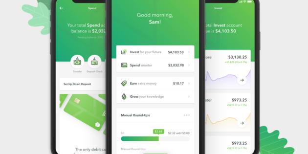 La app de inversiones Acorns cierra una ronda de 105 millones de dólares