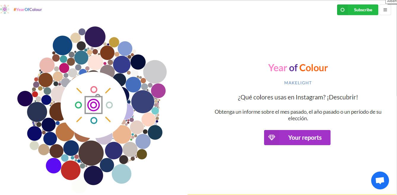 Esta app te permite saber qué colores usas más en tu cuenta de Instagram