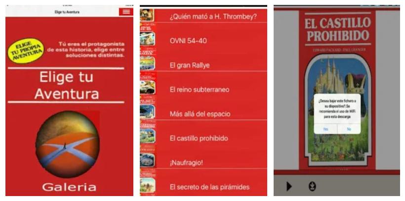 Disfruta los libros de Elige Tu Propia Aventura en formato app