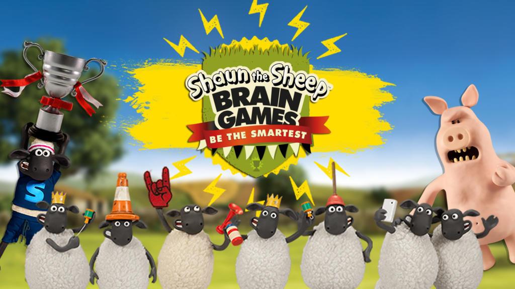 Pon tu cerebro a trabajar con La Oveja Shaun- Entrena tu mente