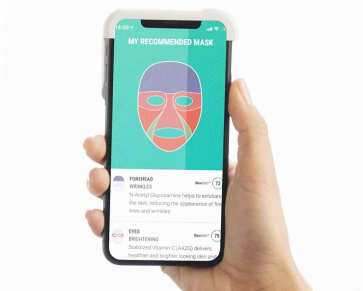 Neutrogena presenta en CES una app para crear mascarillas faciales personalizadas