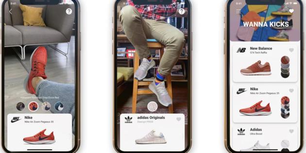 Wanna Kicks, la app que te permite probarte zapatillas deportivas gracias a la realidad aumentada
