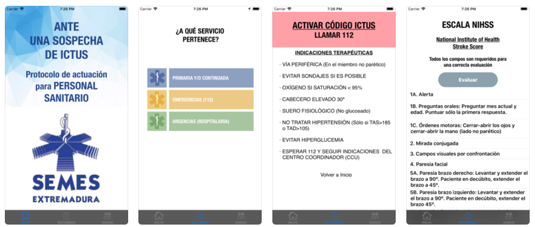 Presentan una app que permite a los profesionales médicos tratar con agilidad casos de ictus